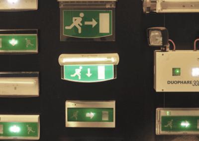 DPS EUROSYSTEMS Showroom / Éclairage de sécurité